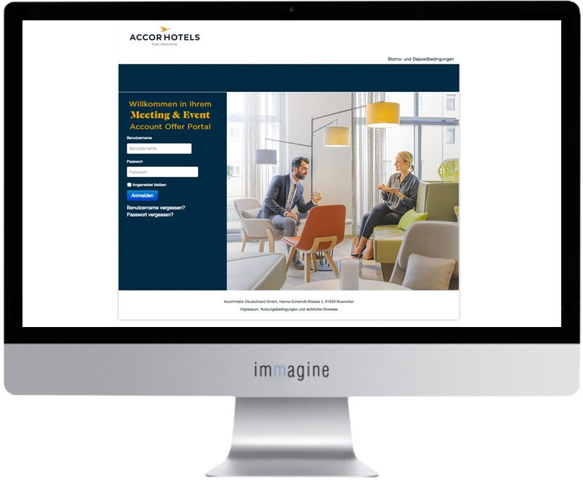 Website Accorhotels MICE - Immagine Webagentur München