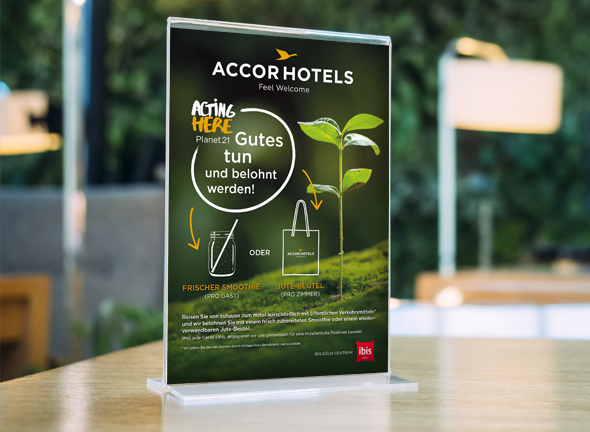 AccorHotels Factsheets Restaurants - Immagine Werbeagentur München