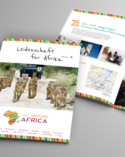 All Around Africa - Folder Vol 4