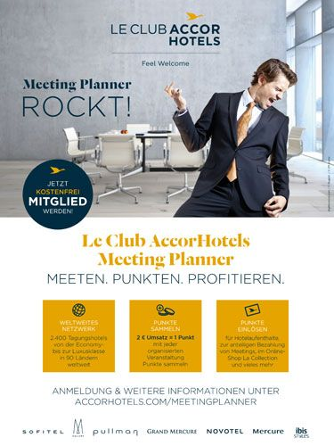 Accor LeClub Meeting Planner-Anzeigen